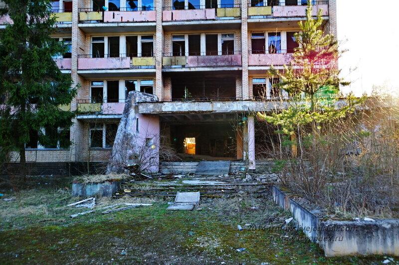 Разграбленный пансионат Голубое озеро, Одинцовский р-н