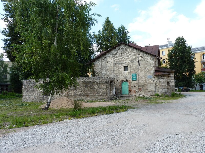 Церковь Сергия с Залужья в Пскове (июль 2014)