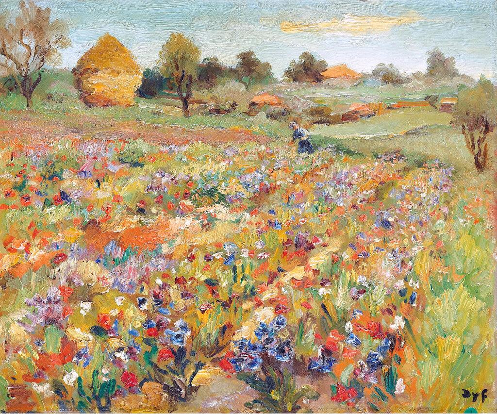 Marcel Dyf - The Field of Poppies.jpeg