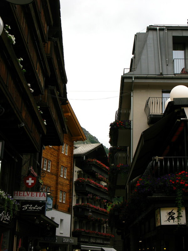 Центральная улица Церматта