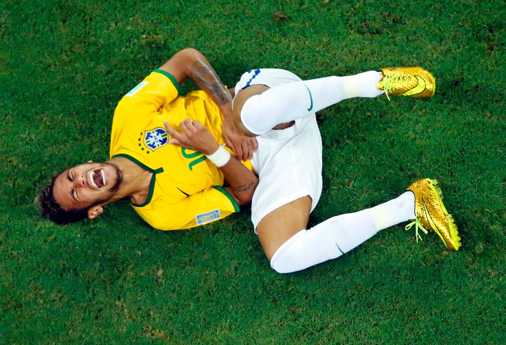 Brazil Soccer WCup Brazil Colombia