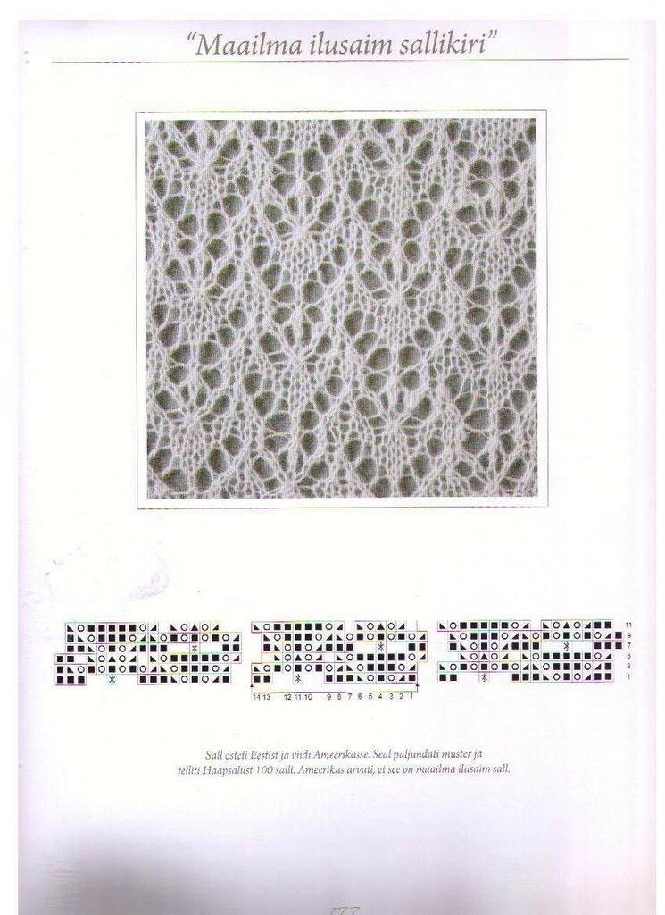 Мохер узоры для вязания спицами