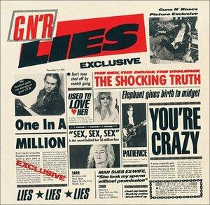 Guns N' Roses – G N' R Lies (1988) [Geffen Records, GHS 24198]