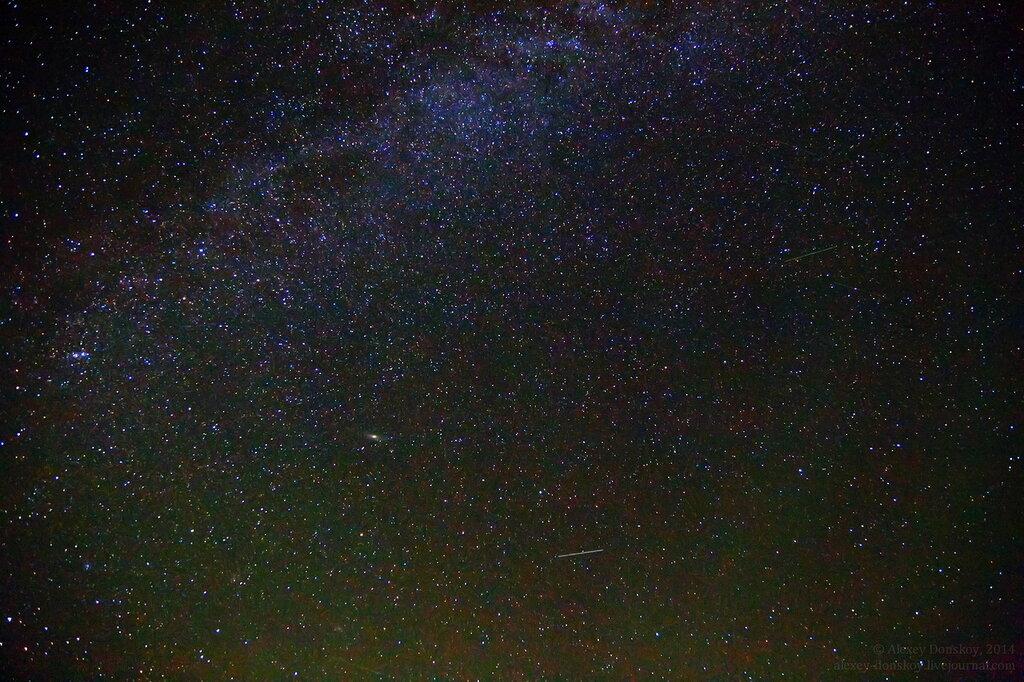 Персеиды, Млечный Путь, Персей, Кассиопея, Андромеда