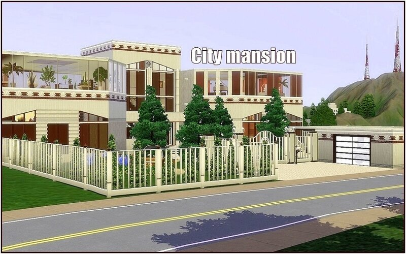 City mansion by Dolkin