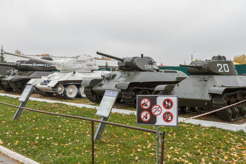 Лучшие танки СССР во второй мировой, Кубинка