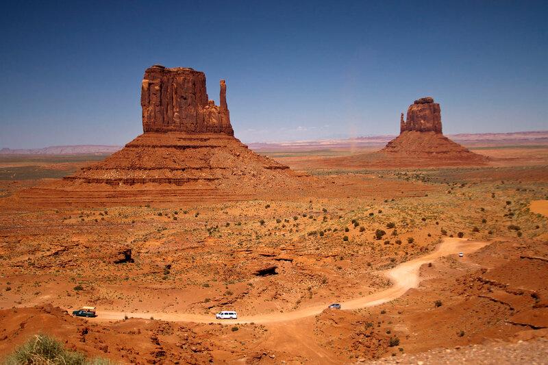 Долина Монументов.  Аризона