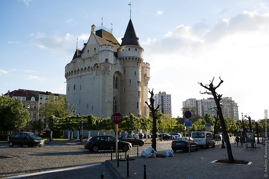 Халльские ворота в Брюсселе