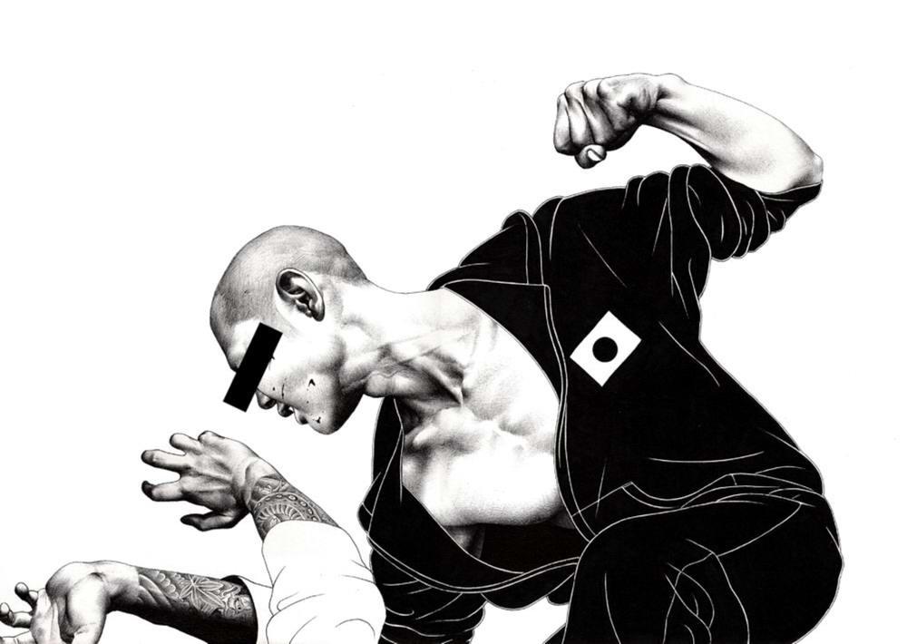 Сумасшедшие рисунки японского художника Shohei Otomo (34)