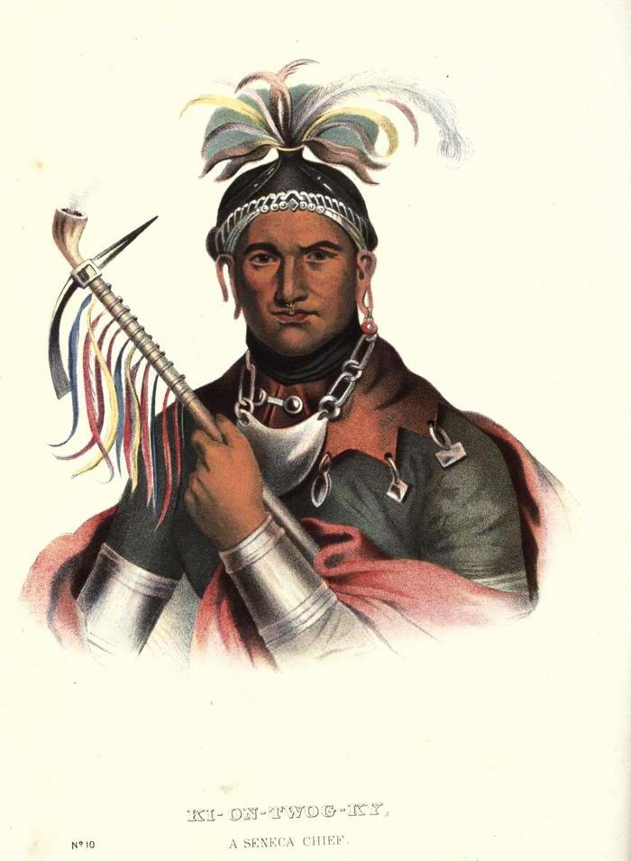 Вождь племени Seneca