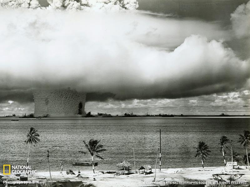 Ядерные испытания на Бикини
