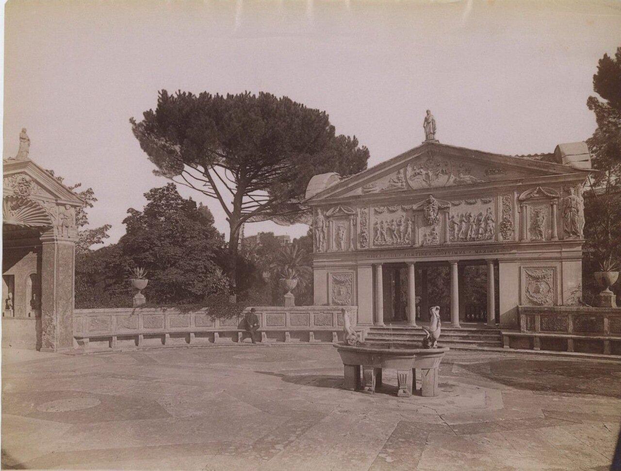 Сад Ватикана. 1875.