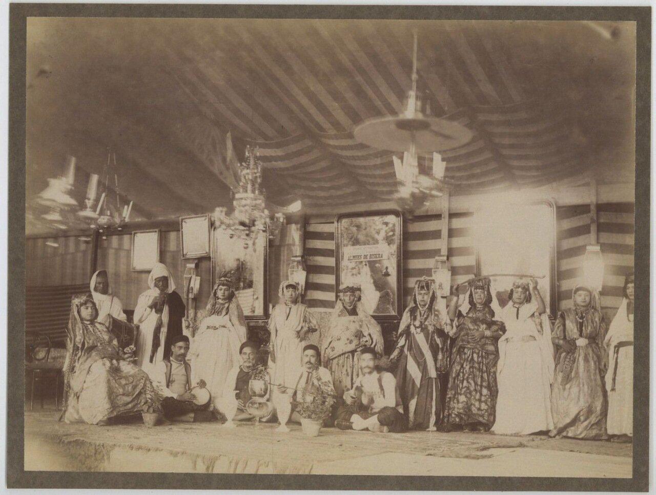 1875. Арабская свадьба