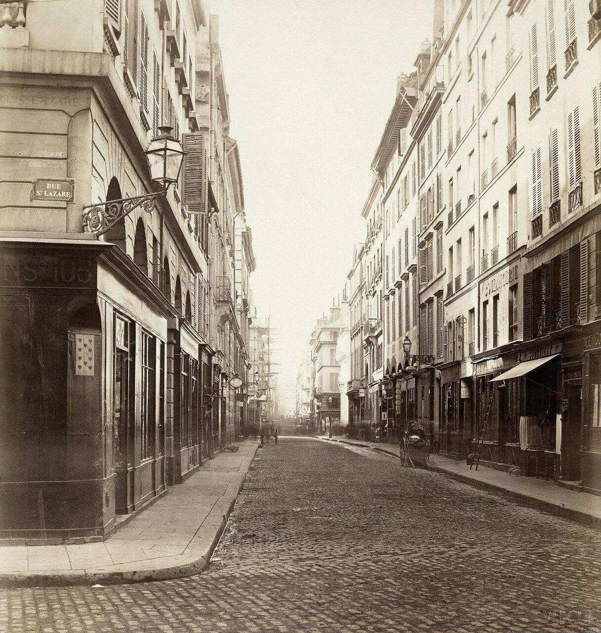 Рю Комартен. 1865