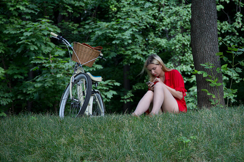 Про винтажный велосипед