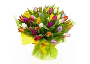 Замечательный подарок своей девушке – букет цветов