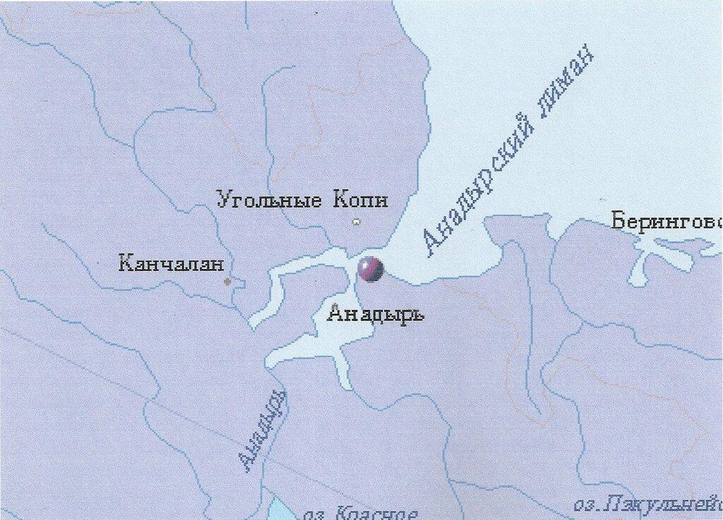 Анадырь где находиться