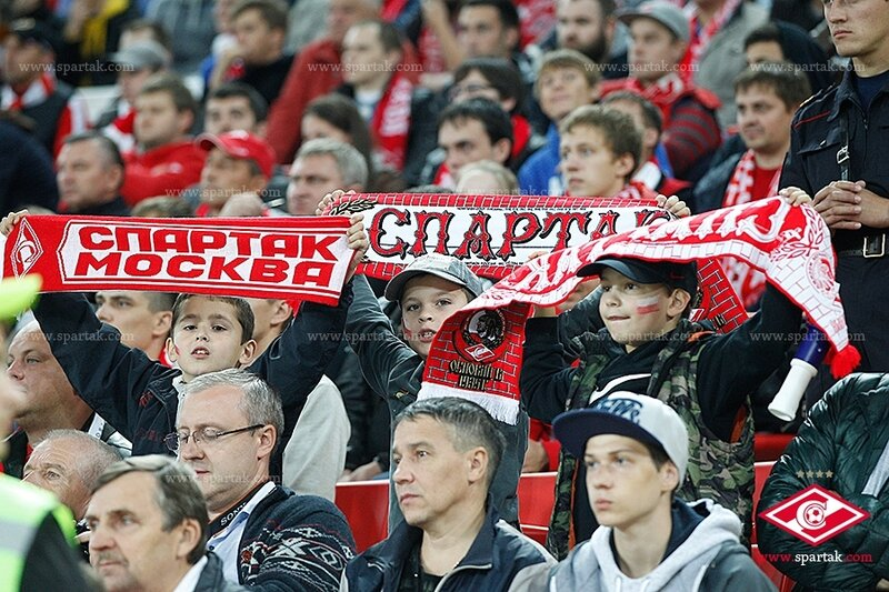 «Спартак» vs «Терек» 1:1 Премьер-лига 2014-2015 (Фото)