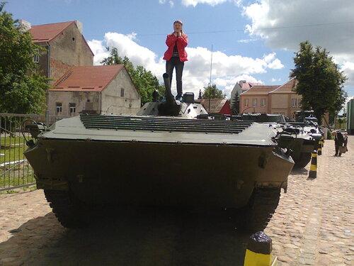 Музей боевой техники под открытым небом на границе с Литвой