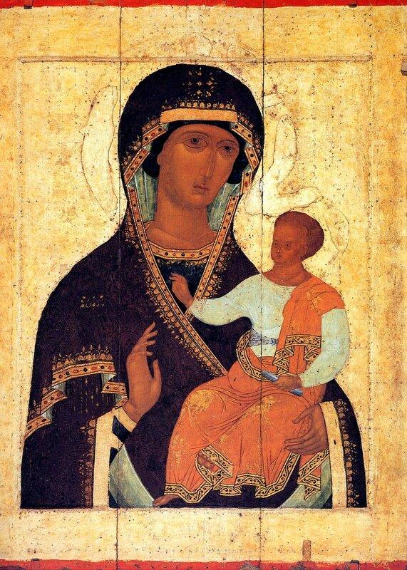 Богоматерь с Младенцем. Иконописец Дионисий. Начало XVI века.