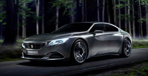 Автомобильная компания Peugeot объявила новую версию европейского концепта Exalt