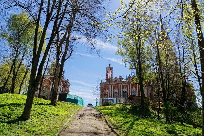Старо-Никольский и Ново-Никольский соборы, Можайский кремль