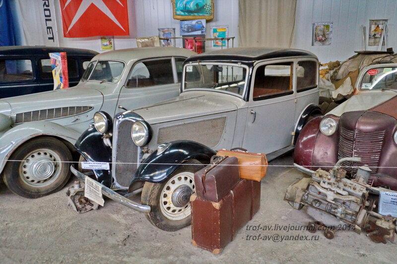 BMW 303, 1933 г. Ломаковский музей старинных автомобилей и мотоциклов, Москва