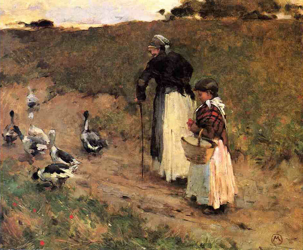 Old Woman with Child and Goose, 1884-85.jpeg