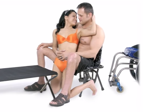 Позы для инвалидов секс