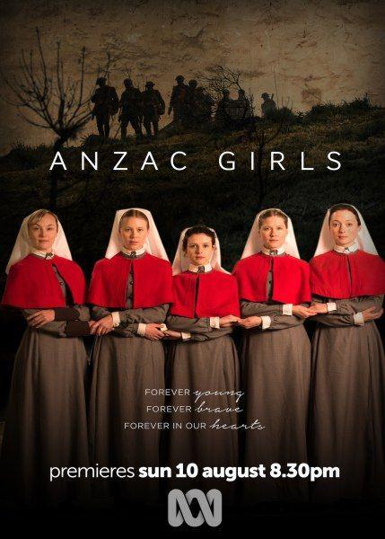 Девушки из Анзак / Anzac Girls (1 сезон/2014/WEB-DLRip)