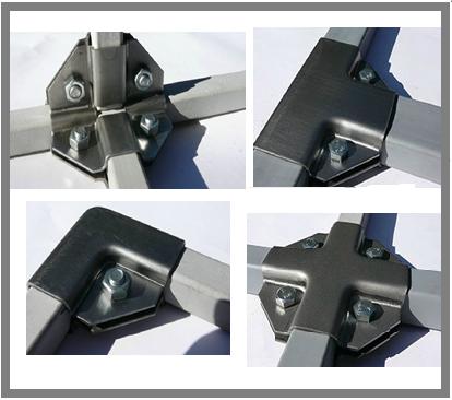 система МС-КСистема МС-К - Крепежных систем ( скоб, краб, хомут, пластин) предназначена для соединения профильной, квадратной и прямоугольной трубы