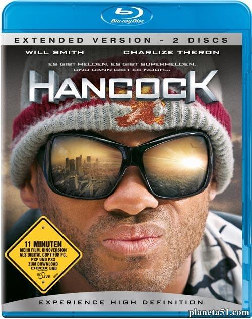 Хэнкок / Hancock (2008/HDRip/BDRip/Расширенная версия) + AVC