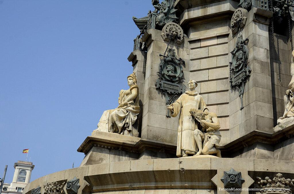 Порт и набережная Барселоны