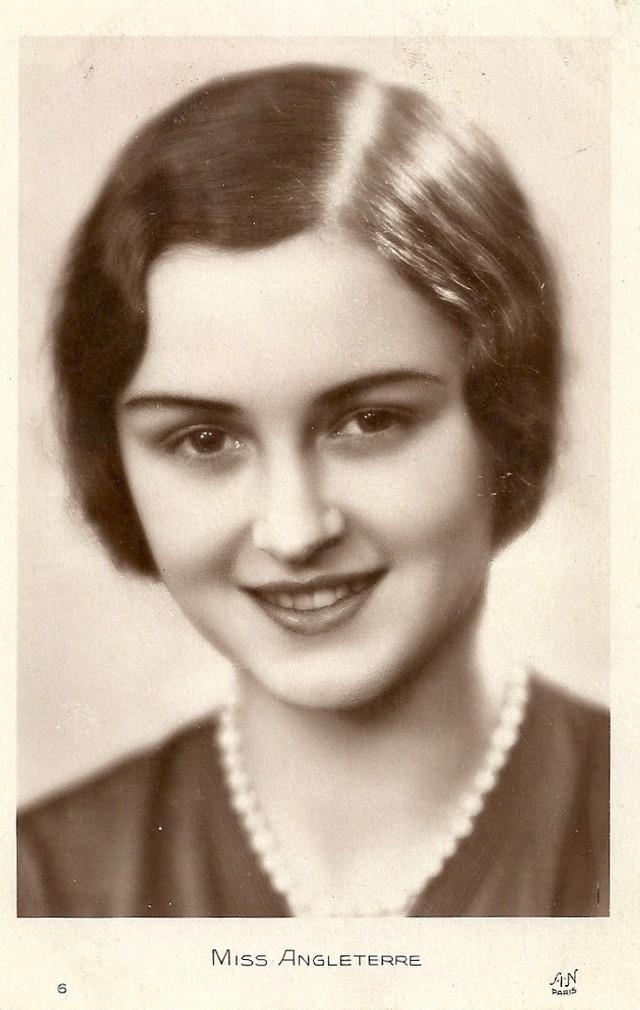 16. Мисс Англия Марджори Росс.