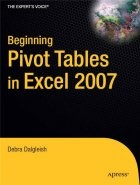 Beginning Pivot Tables in Excel 2007