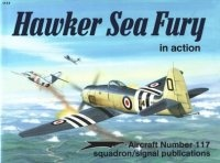 Книга Aircraft Number 117: Hawker Sea Fury in Action.