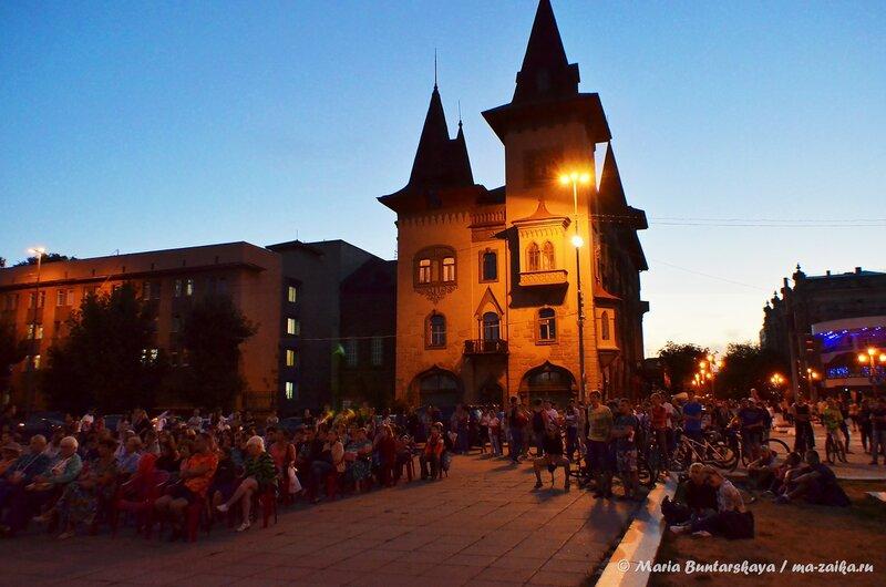 День кино, Саратов, площадь Н.Г.Чернышевского, 27 августа 2014 года