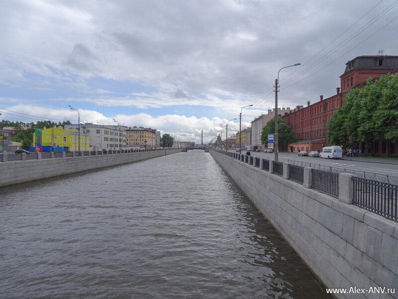 Обводный канал, вид с Тараканоского моста