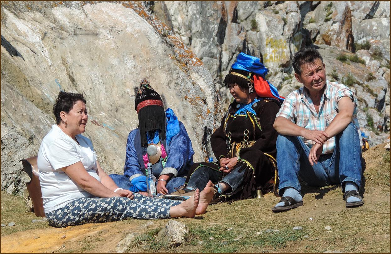 Попасть к настоящему шаману