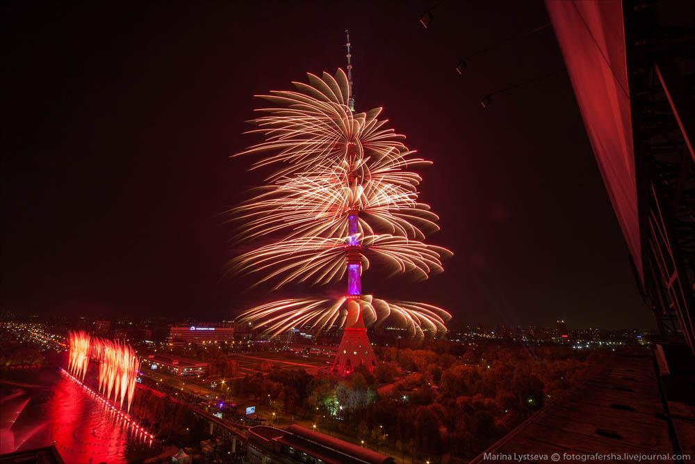 Открытие фестиваля Круг света в Останкино