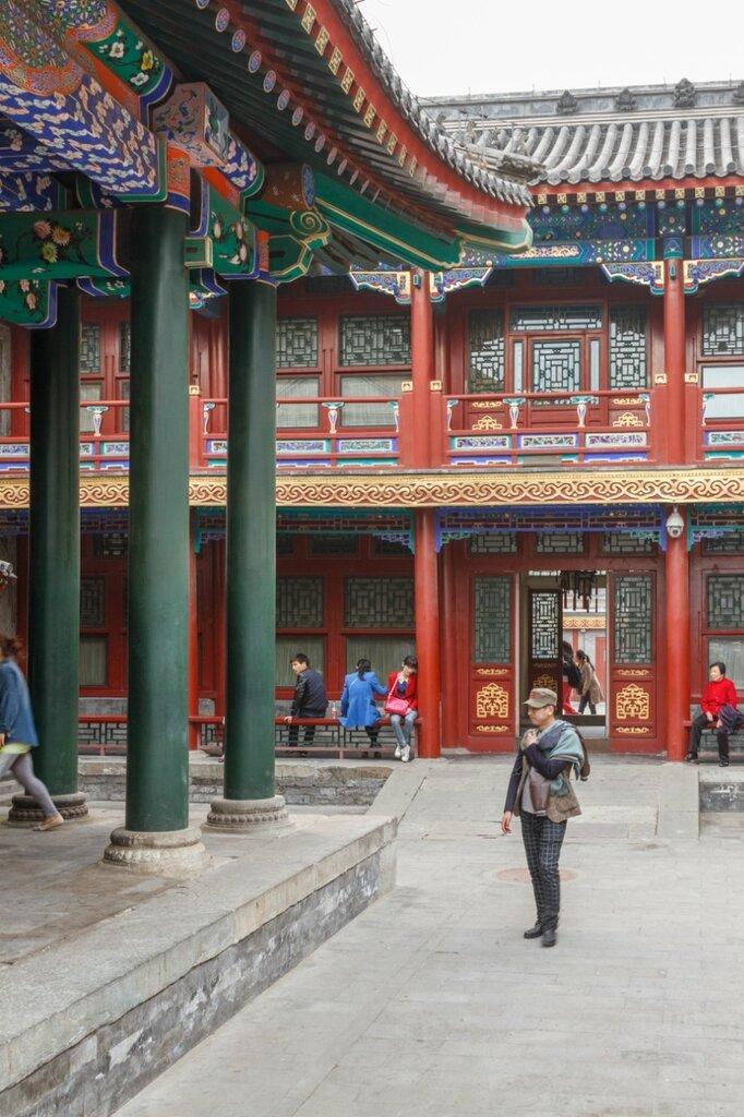 Павильоны, резиденция князя Гуна, Пекин