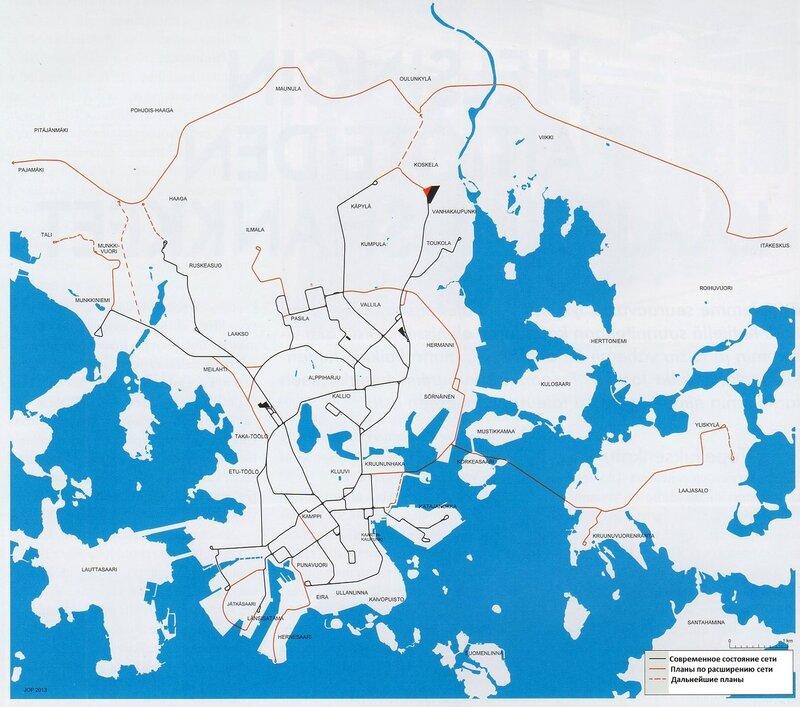 Планы по расширению трамвайной