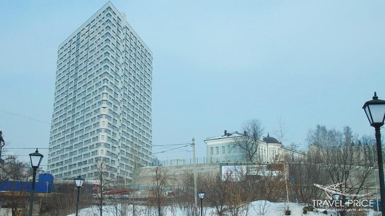 треугольный дом Казань