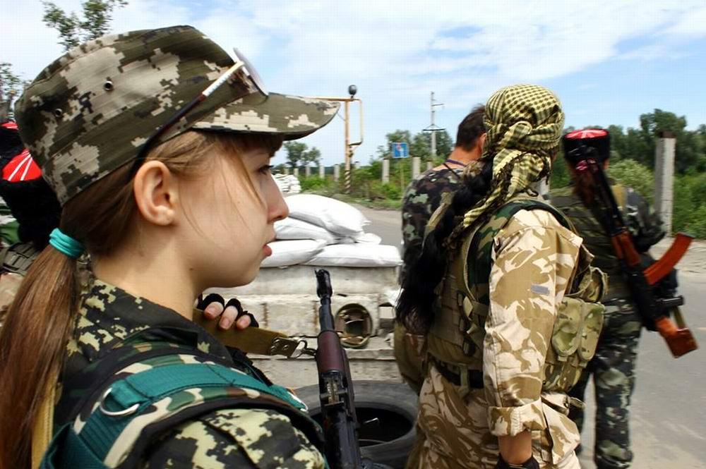 Женский батальон из Северодонецка (ЛНР) -  2