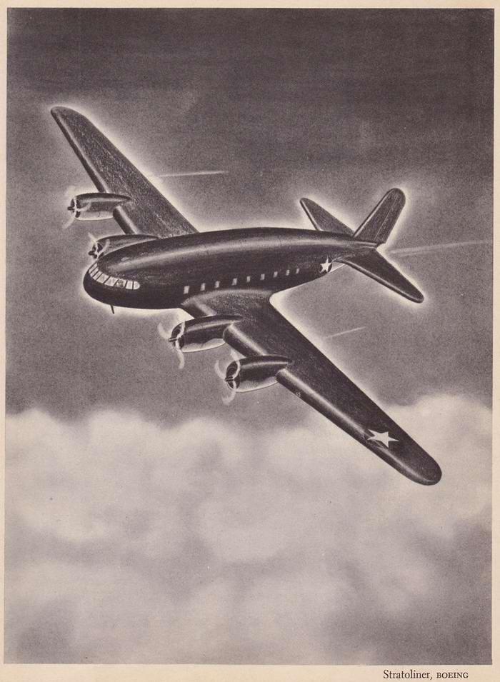 Boeing Stratoliner - тяжелый транспортный самолет