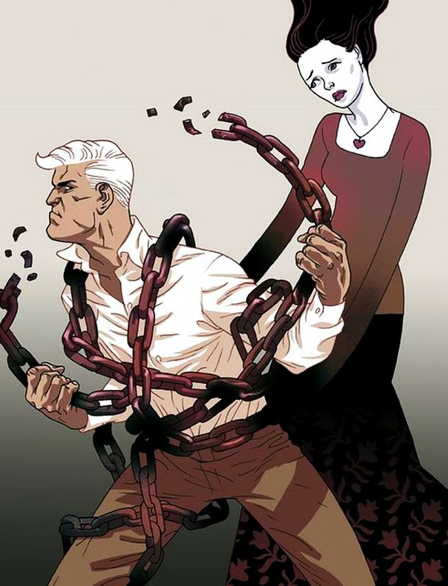 Социальный арт от иллюстраторов Asaf и Tomer Hanuka (Израиль) (2)
