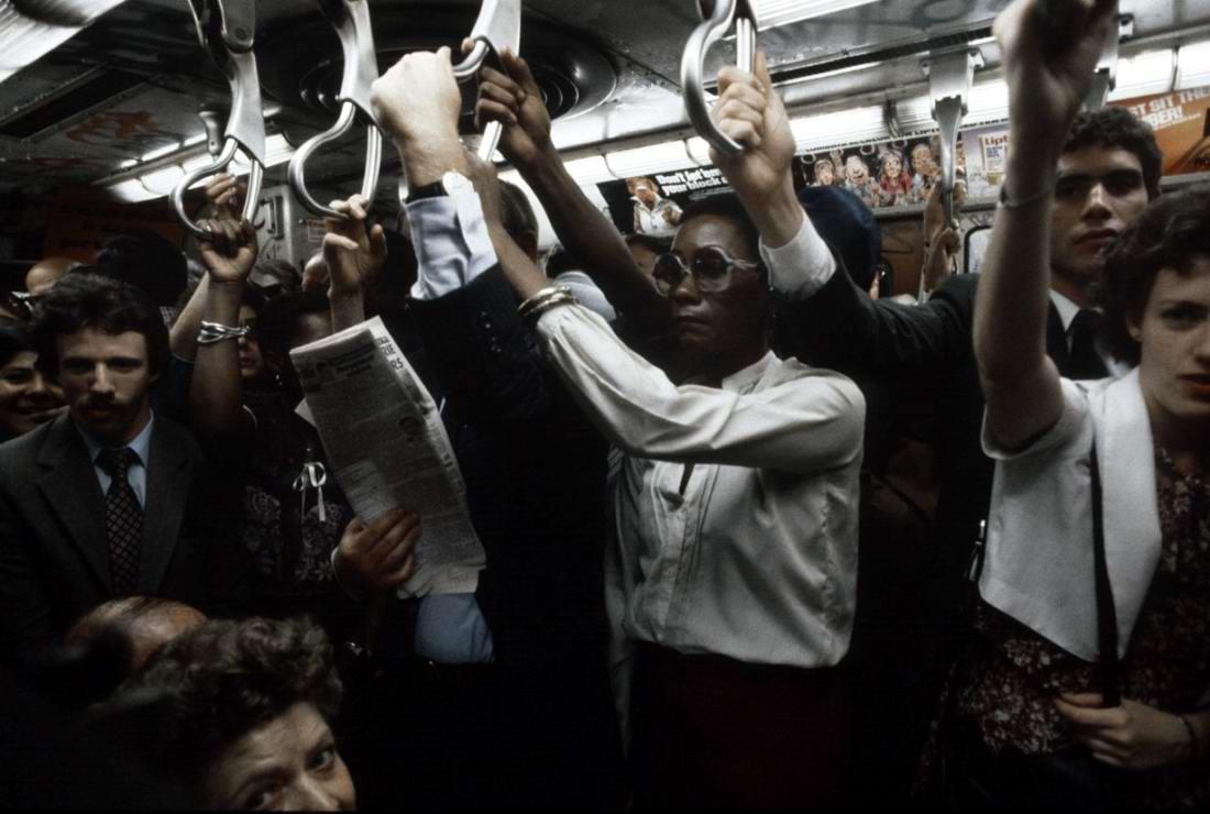 Американский фотограф Christopher Morris: Граффити и андеграунд нью-йоркского метро (5)