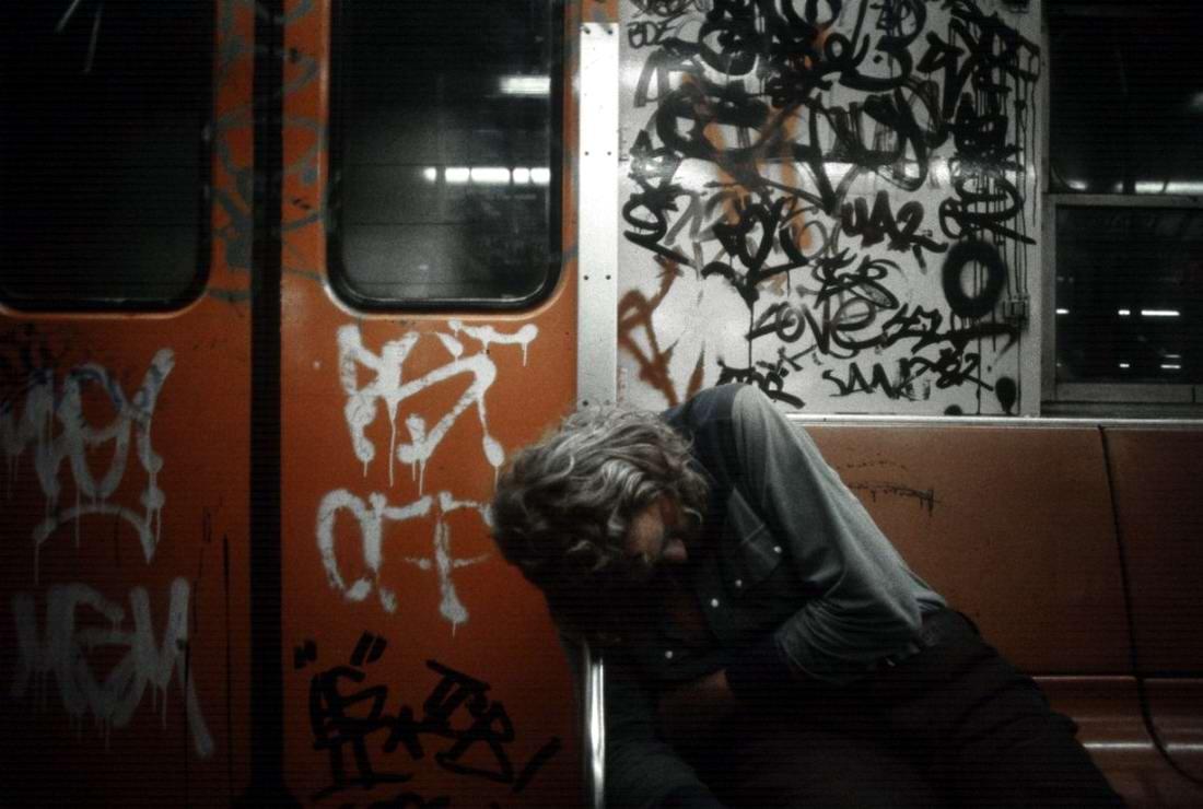 Американский фотограф Christopher Morris: Граффити и андеграунд нью-йоркского метро (38)