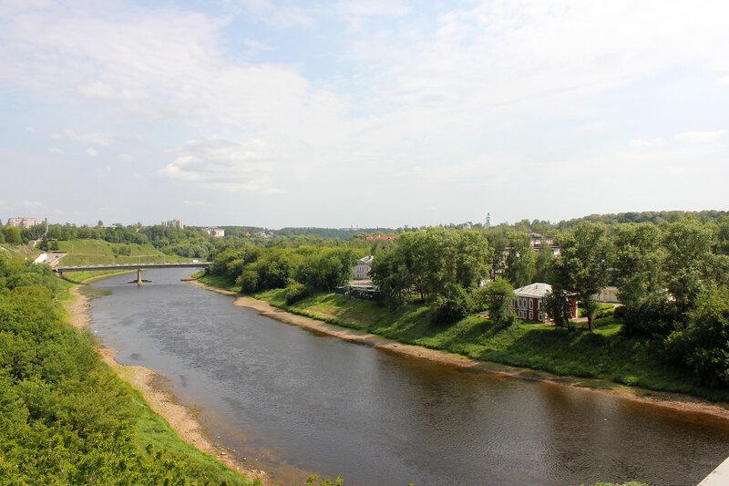 Река Волга в Ржеве