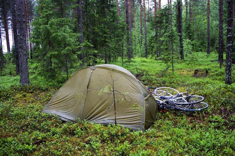 наша ночевка в лесу